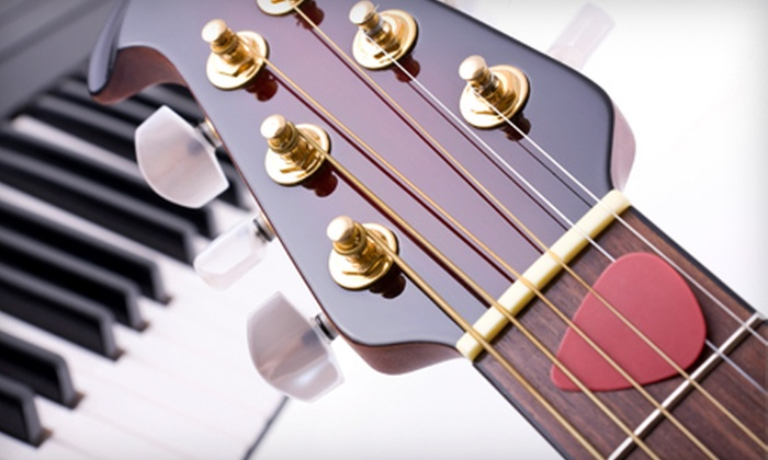 Music Matters - New Port Richey: $49 for Four Private Music Lessons at Music Matters in New Port Richey (Up to $100 Value)