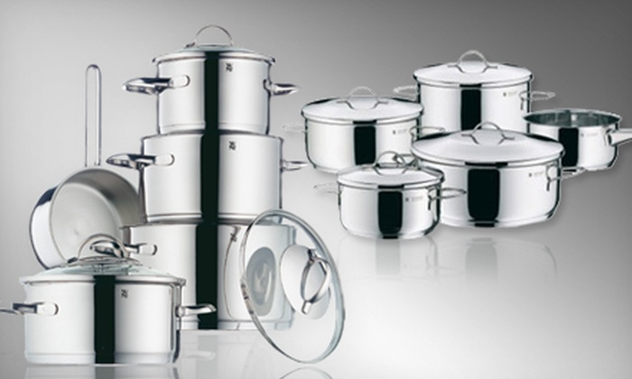 Stainless Steel Nine-Piece Cookware Set: Provence Plus or Casa Nine-Piece Cookware Set (Up to 76% Off). Shipping Included.