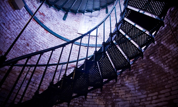 Bricktown Haunted Warehouse Presents Pitch Black - Downtown Oklahoma City: Admission for Two or Four to Bricktown Haunted Warehouse Presents Pitch Black. Three Options Available.