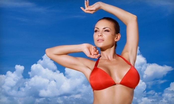 Knight and Sanders Plastic Surgery - Shreveport: $15 for a Bronze Biologic Airbrush Tan at Knight and Sanders Plastic Surgery ($35 Value)