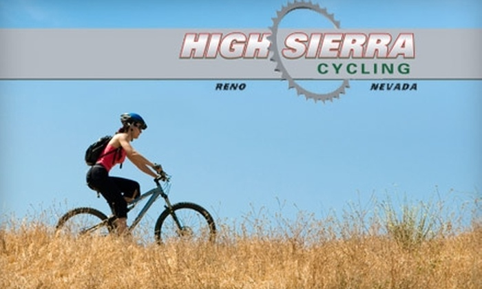 High Sierra Cycling - Southeast Reno: $25 for $50 worth of Bikes, Cycling Gear, and More at High Sierra Cycling