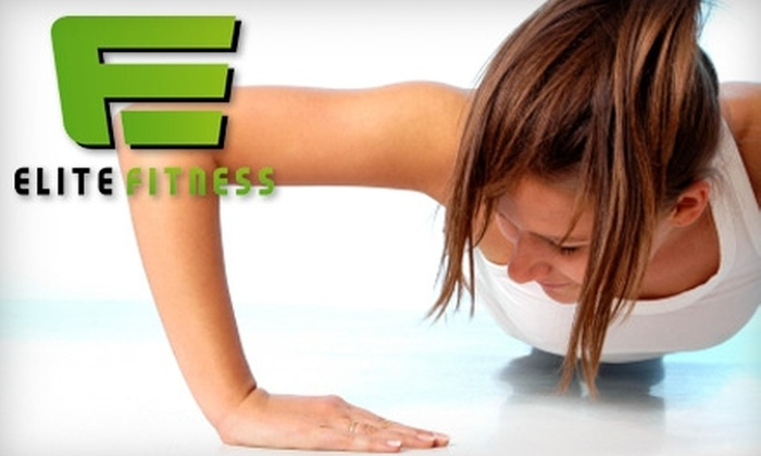 Elite Fitness - Meridian: $29 for One Month of Boot Camp and Nutrition Consultation at Elite Fitness