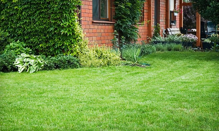 Landwork Contractors - Westchester County: Two or Four Lawn-Mowing Sessions or Lawn-Fertilizer Application from Landwork Contractors (Up to 77% Off)