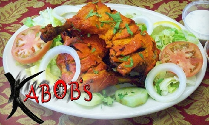 Kabob's - Multiple Locations: $7 for $15 Worth of South Asian Fare at Kabob's Restaurant