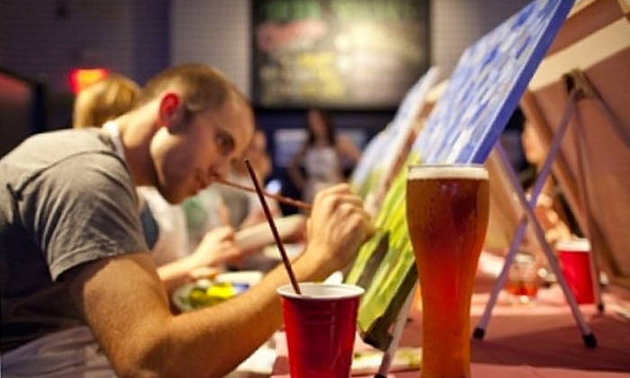 Paint Nite NYC - New York: Two-Hour Bar Painting Class for One or Two from Paint Nite NYC (Up to 51% Off)