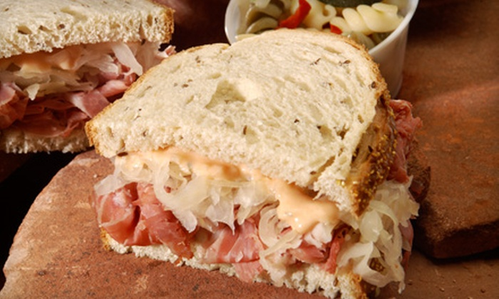 New York Deli - Huntsville: $6 for Two New York–Style Reubens at New York Deli ($13 Value)