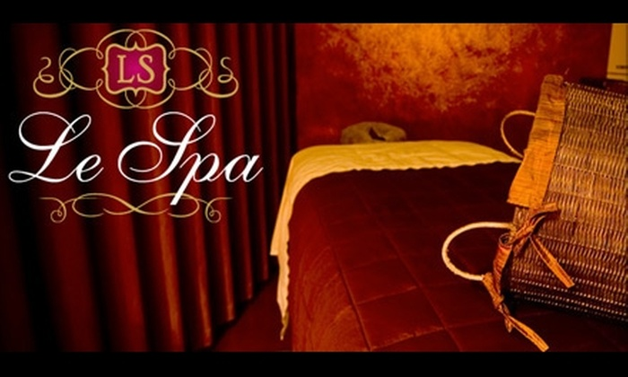 Le Spa - Folsom: $99 for an Aromatherapy and Hot Towel Massage and a Customized Signature Facial at Le Spa in Folsom ($210 Value)