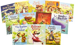 My First Bible Stories from QED (12-Book Bundle)