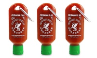 GROUPON: 3-Pack of Sriracha2Go Bottles 3-Pack of Sriracha2Go Bottles