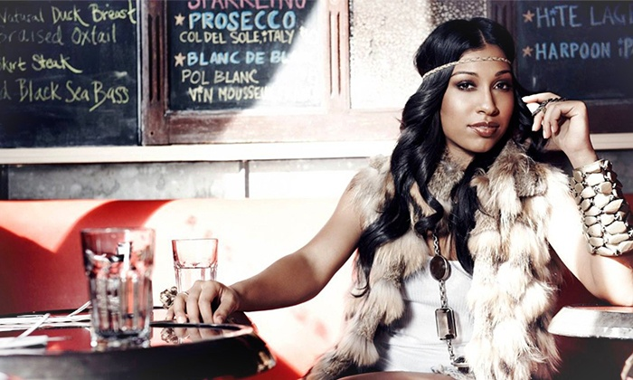 Red @ 28th presents Love songs Past and Present w/ Melanie Fiona, J Holiday, and Silk - Amos' Southend: Melanie Fiona, J. Holiday, and Silk at Amos' Southend on Friday, November 8, at 9 p.m. or 10:30 p.m. (Up to 40% Off)