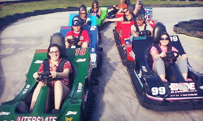 The Zone - Rocky Mount: $11 for a Fun-Park Outing with Go-Kart Rides, Mini Golf, and Batting Cage Tokens at The Zone in Rocky Mount ($23 Value)