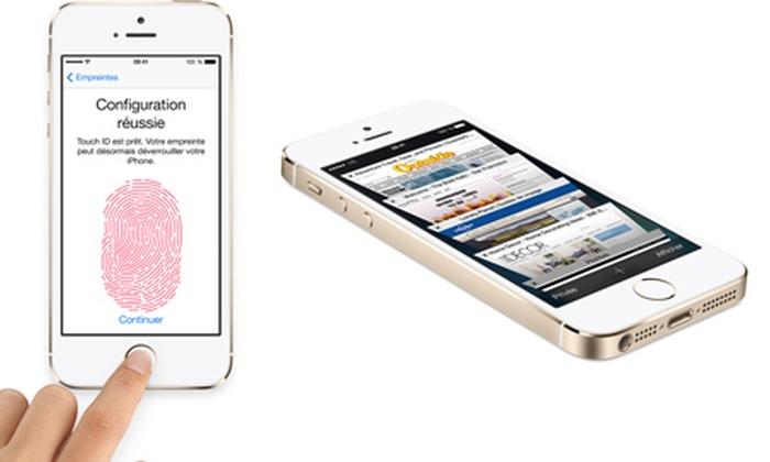 iphone 5s 16go neuf et compatible tout op rateur groupon. Black Bedroom Furniture Sets. Home Design Ideas