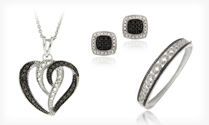 Black Diamond Jewelry: Black Diamond Earrings, Necklaces, and Bracelets (Up to 80% Off). 17 Options Available. Free Shipping and Free Returns.