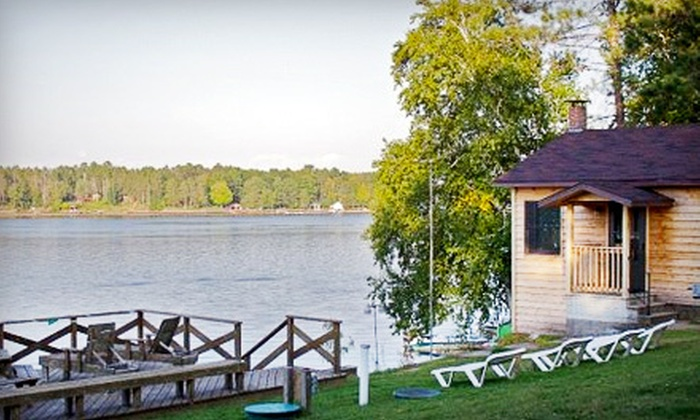 Lakewood Resort - Nokomis: Two- or Three-Night Cottage Stay at Lakewood Resort in Tomahawk (Up to 52% Off). Six Options Available.