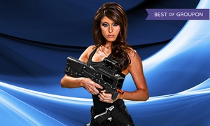 Hard Knocks: Six Laser-Tag Missions and a One-Year Membership for One or Two at Hard Knocks (Up to 44% Off)