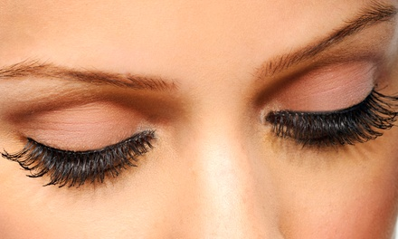 $65 for a Full Set of Mink or Silk Eyelash Extensions at Fingers Faces & Toes ($150 Value)