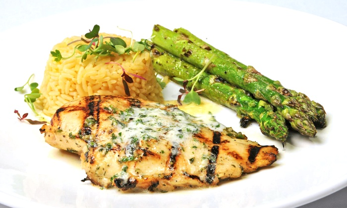 River Rock at Sportsmen's Lodge - Los Angeles: New American Brunch or Dinner at River Rock at Sportsmen's Lodge ( 40% Off)