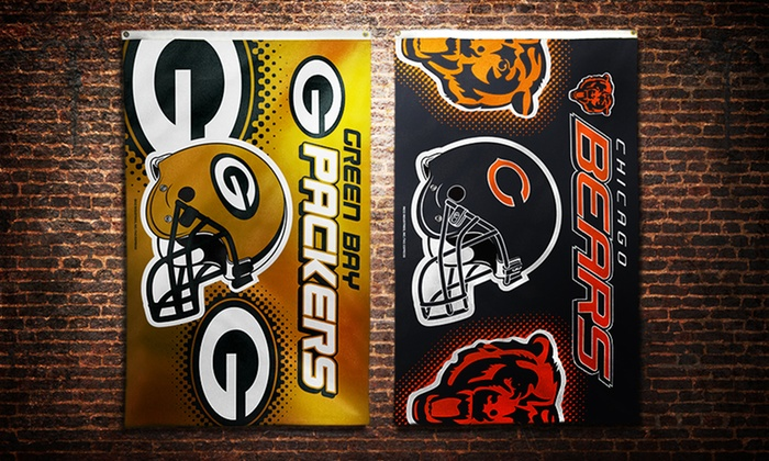 NFL 3'x5' Banner Flags: NFL 3'x5' Team Banner Flag. Multiple Teams Available. Free Shipping and Returns.