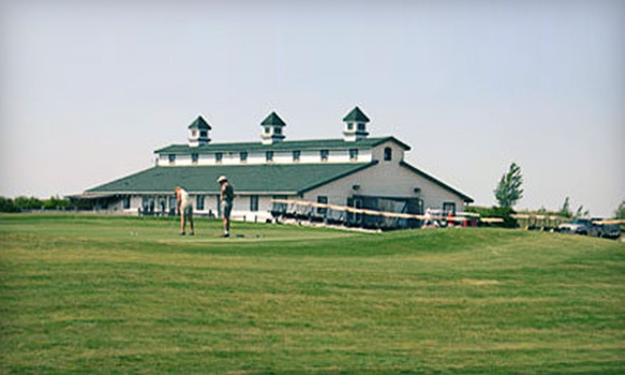 Mainprize Regional Park and Golf Course - Midale: Golf Game with Cart and Range Balls for Two or Four at Mainprize Regional Park and Golf Course in Midale (Up to 55% Off)