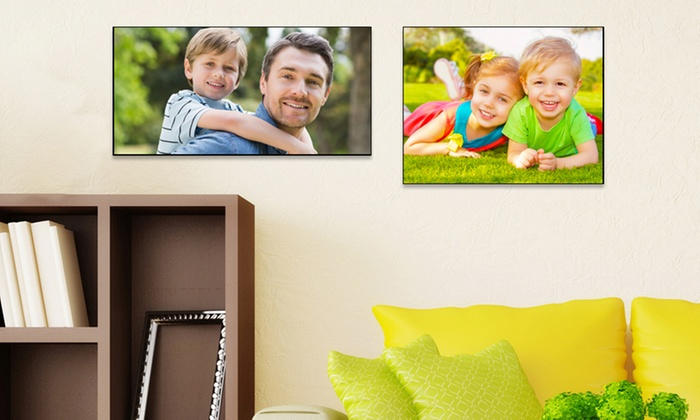 "Picture It On Canvas: One 11""x14"" or 9""x18"" Custom Wood Wall Panel from Picture It On Canvas (65% Off). Free Shipping."