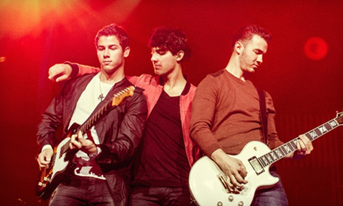 Jonas Brothers Live Tour - Klipsch Music Center: $15 to See the Jonas Brothers Live Tour at Klipsch Music Center on Friday, July 12, at 7 p.m. (Up to $33 Value)