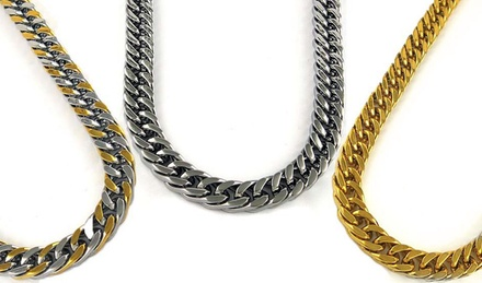 Men's Stainless Steel Miami Curb Chains