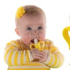2-Pack of Baby Banana Bendable Training Toothbrushes for Infants