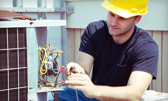 Advanced Heating & Cooling - Northeast Meridian: AC Unit Tune-Up with Optional Furnace Tune-Up from Advanced Heating & Cooling (Up to 81% Off)