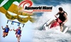 Aquaworld Miami Beach - Downtown Miami: $129 for Half-Day Adventure Pass, Including Parasailing, Snorkeling & More Plus a HD-Photo Package at Aquaworld Miami ($374 Value)
