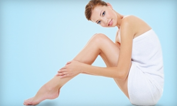 LaseRx Medical Aesthetic Center - Multiple Locations: $99 for Three Laser Hair-Removal Sessions at LaseRx Medical Aesthetic Center (Up to $675 Value)
