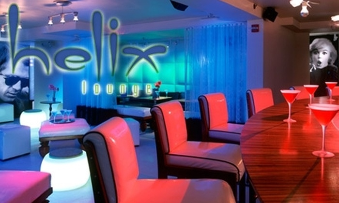 Helix Lounge - Logan Circle - Shaw: $20 for $40 Worth of American Fare and Decadent Drinks at Helix Lounge