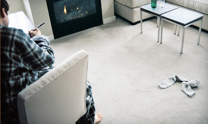 Oxy Green Carpet Cleaning - Terry Sanford: $49 for a Two-Room and Hallway Carpet Cleaning from Oxy Green Carpet Cleaning (Up to $109.95 Value)