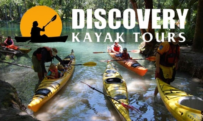 Discovery Kayak Tours - Ocala: $30 for Choice of One of Four Half-Day Kayak Tours with Discovery Kayak Tours ($65 Value)