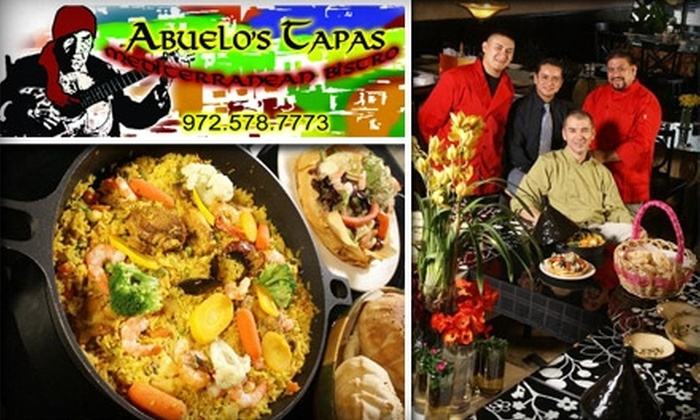 Los Rios Mediterean Bistro - Plano: $15 for $35 Worth of Tapas and Drinks at Abuelo's Tapas