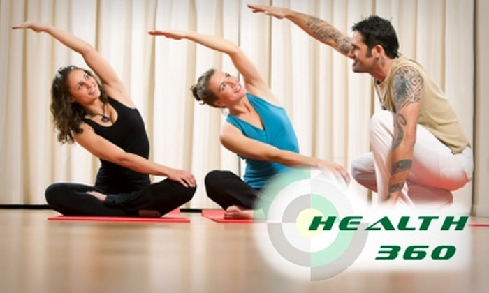 Health 360 - Mayfield: $5 for Three Yoga Classes at Health 360 ($30 Value)