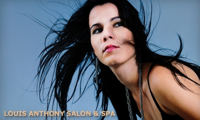 Louis Anthony Salon & Spa - Chicago: $30 for $60 Worth of Hair and Facial Treatments at Louis Anthony Salon & Spa in Mount Prospect