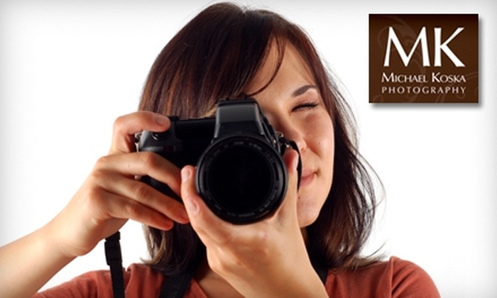 Michael Koska Photography - North Charleston: $49 for Four-Hour Photography Workshop by Michael Koska Photography ($250 Value) in North Charleston