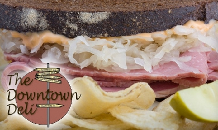 The Downtown Deli - Bluffton: $5 for $10 Worth of Sandwiches and Drinks at The Downtown Deli