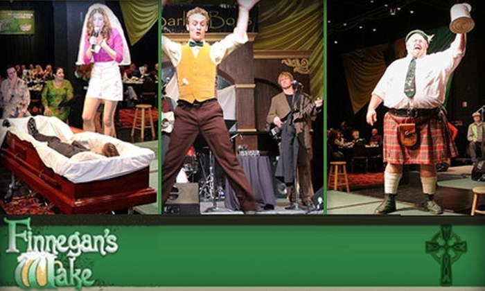 """Finnegan's Wake - Randolph: $29 for a Dinner Theater Ticket to """"Finnegan's Wake"""" at the Lantana. Buy Here for Friday, March 12, at 7:30 p.m. See Below for Additional Performances."""