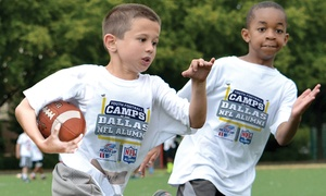 Dallas NFL Alumni Hero Youth Football Camps:  Dallas NFL Alumni Hero Non-Contact Youth Football Camp Instruction for Ages 6–14 (3 Locations, 5-Day Camps)