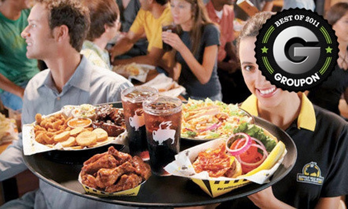 Buffalo Wild Wings - Multiple Locations: Wing Meal for Two or $5 for $10 Worth of Wings and Bar Fare at Buffalo Wild Wings in Sidney or Troy