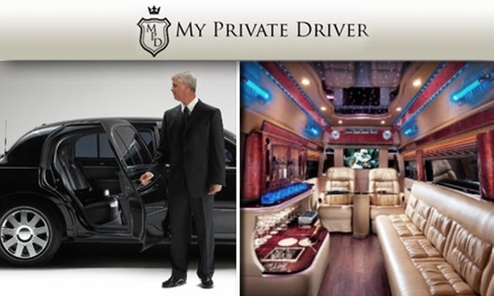 My Private Driver - Dallas: $39 for $100 Worth of Chauffeur Services from My Private Driver
