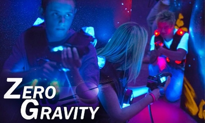 Zero Gravity - Colonie: $14 for Two Games of Laser Tag for Two People at Zero Gravity ($28 Value)