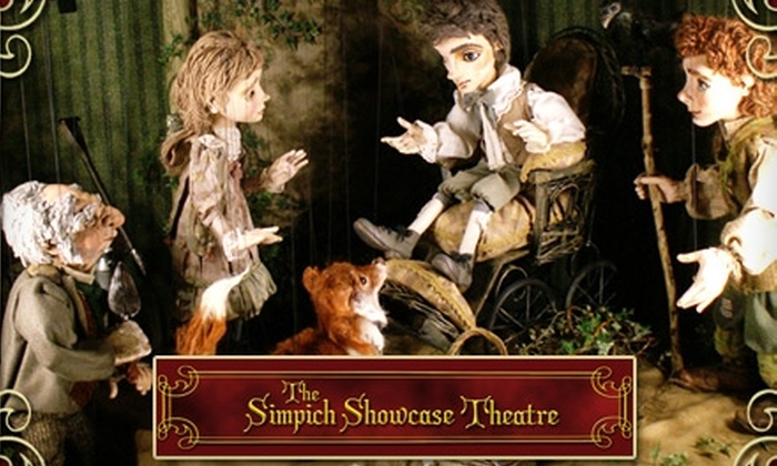 "Simpich Showcase - Old Colorado City: $6 Ticket to ""The Secret Garden"" or ""Aesop"" Marionette Show and Admission to the Doll Museum at Simpich Showcase (Up to $12 Value)"