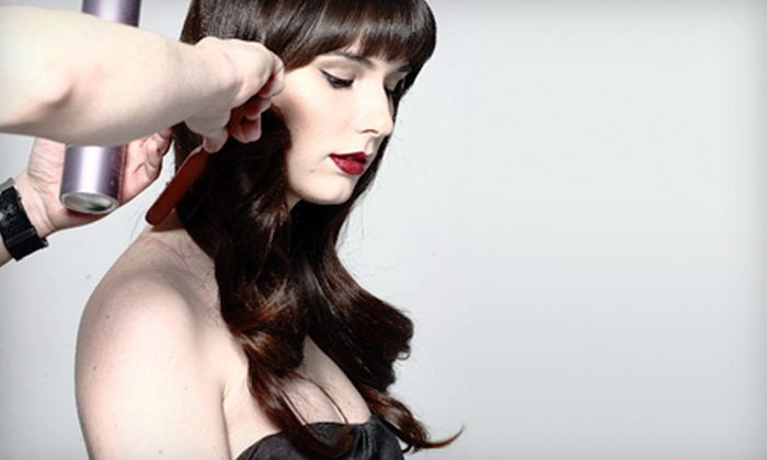 Lucas Nault Hair Studio - Downtown: Wash, Cut, and Style with Optional Colour at Lucas Nault Hair Studio (Up to 54% Off)