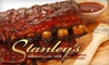 Stanley's Northeast Bar Room - Marshall Terraces: $15 for $30 Worth of American Cuisine at Stanley's Northeast Bar Room