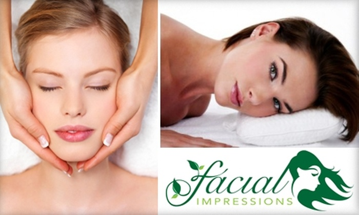 Facial Impressions - Medina: $45 for an Organic Facial and Eye and Lip Treatment at Facial Impressions ($105 Value)