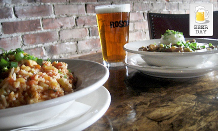 Roscoe's - Portland: $11 for Beer and Gumbo for Two at Roscoe's (Up to $23.50 Value)