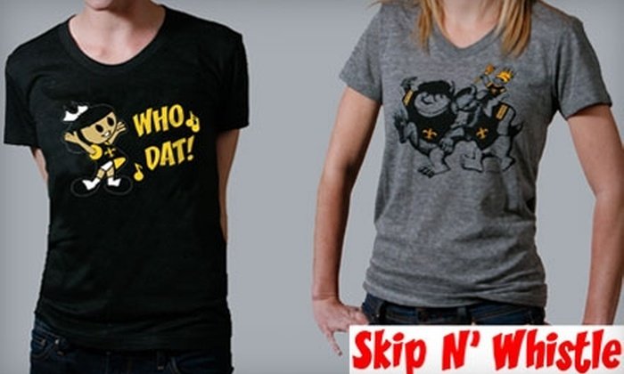 Skip N' Whistle - Leonidas: $15 for $30 Worth of In-Store T-Shirts at Skip N' Whistle