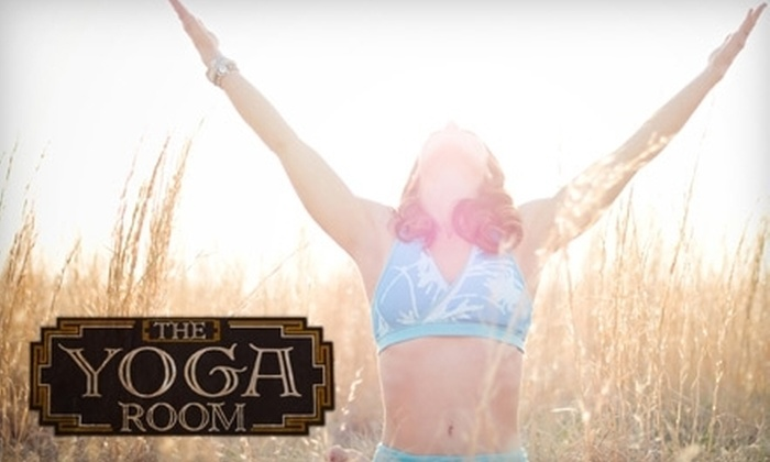 The Yoga Room - Brookside: $25 for a Five-Class Package at The Yoga Room ($60 Value)
